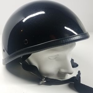 Novelty Black Sparkly Glitter Helmet